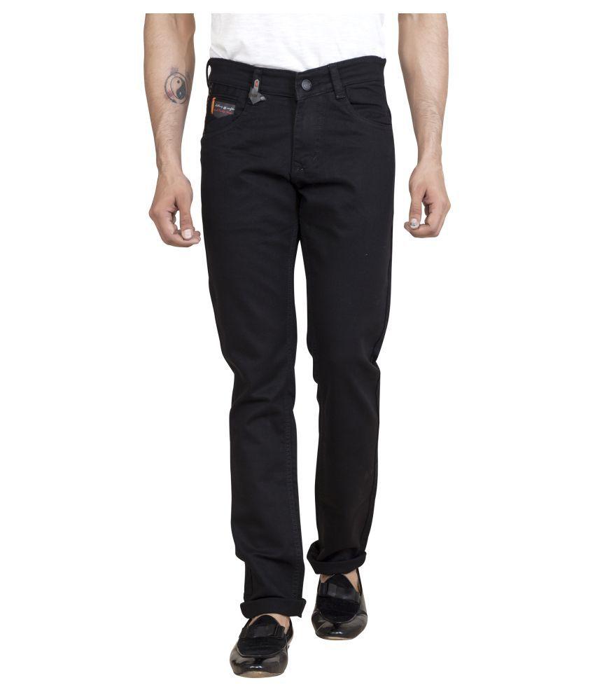 ROAD ROCKERS Black Skinny Jeans