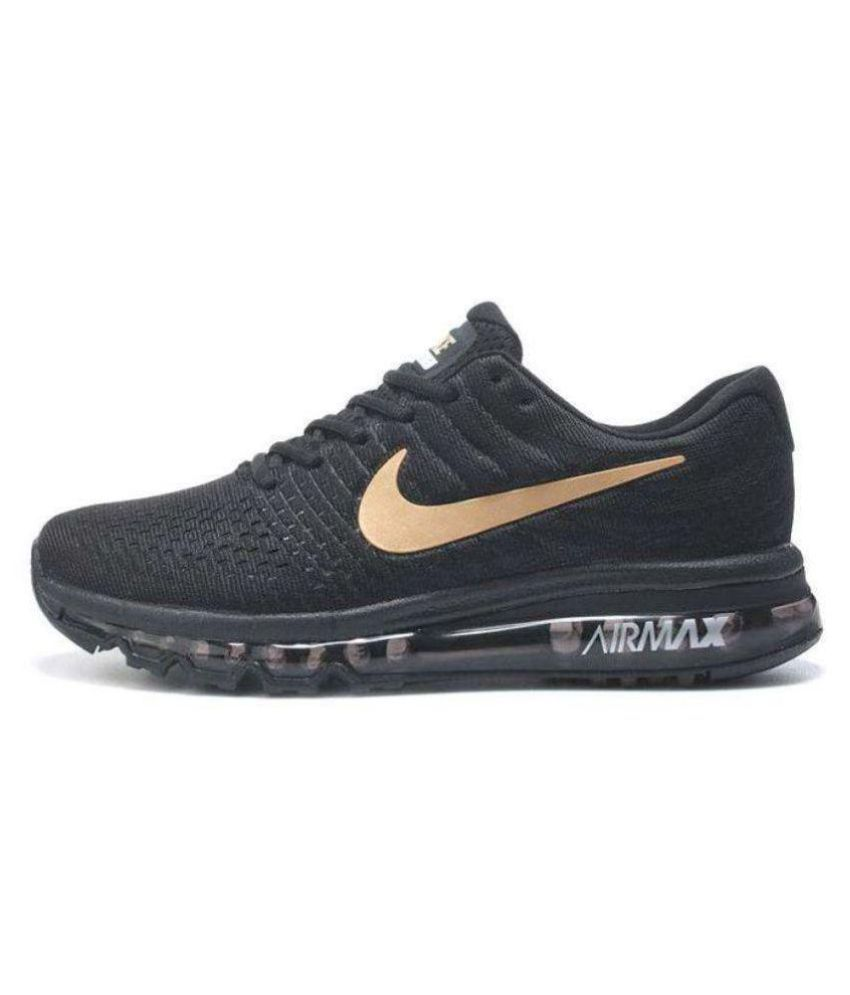 na wyprzedaży brak podatku od sprzedaży sklep internetowy Nike Air Max 2017 Black Running Shoes