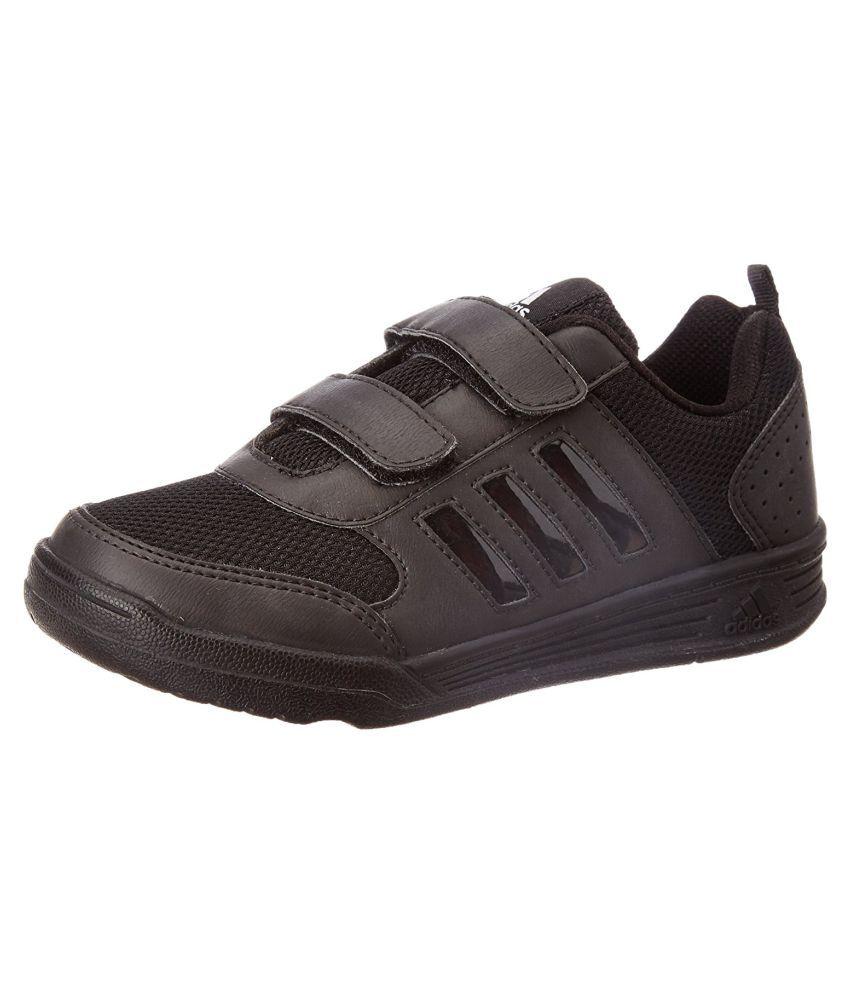 bcbbc71ca6ed Adidas Boy s Flo K Black Velcro School Shoes Price in India- Buy Adidas  Boy s Flo K Black Velcro School Shoes Online at Snapdeal