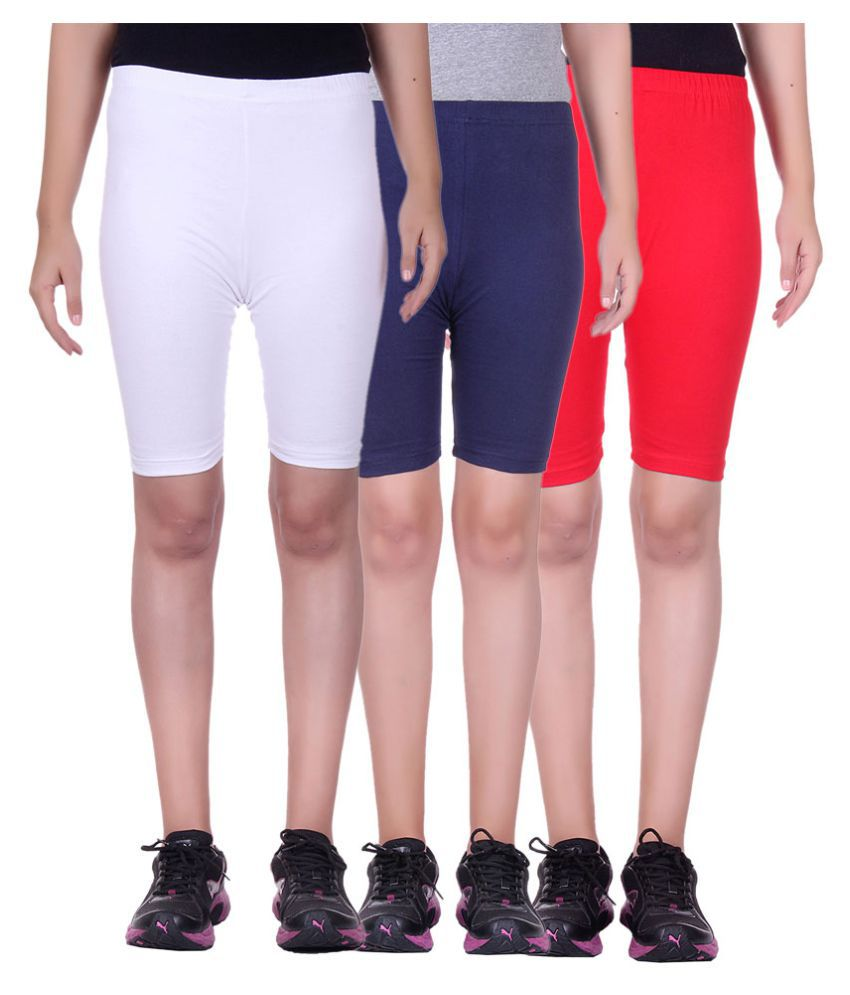 Belmarsh Girls Cycling Shorts - Pack of 3
