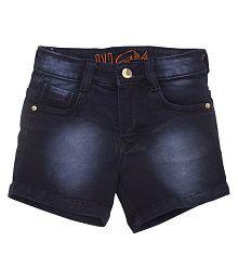 Quick View. OVO Girls Regular Fit Blue Denim Shorts