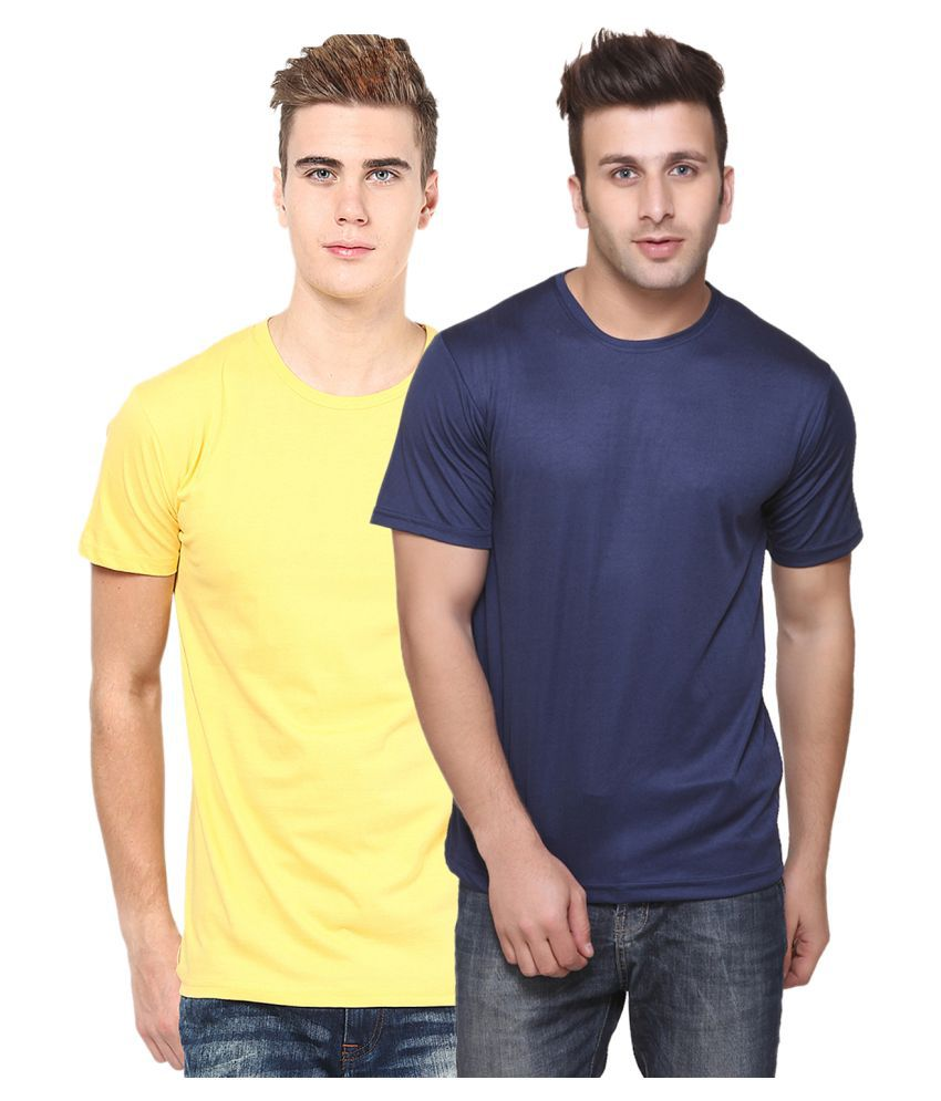 CONCEPTS Multi Polyester T-Shirt Pack of 2
