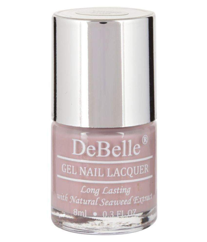 DeBelle Vintage frost Nail Polish Pastel Purple Glossy 8 ml