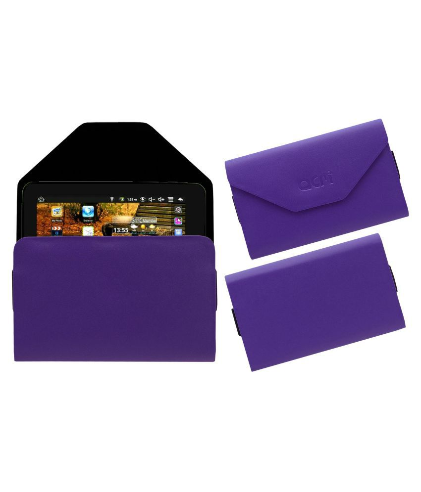 Domo Slate N8 Pouch By ACM Purple