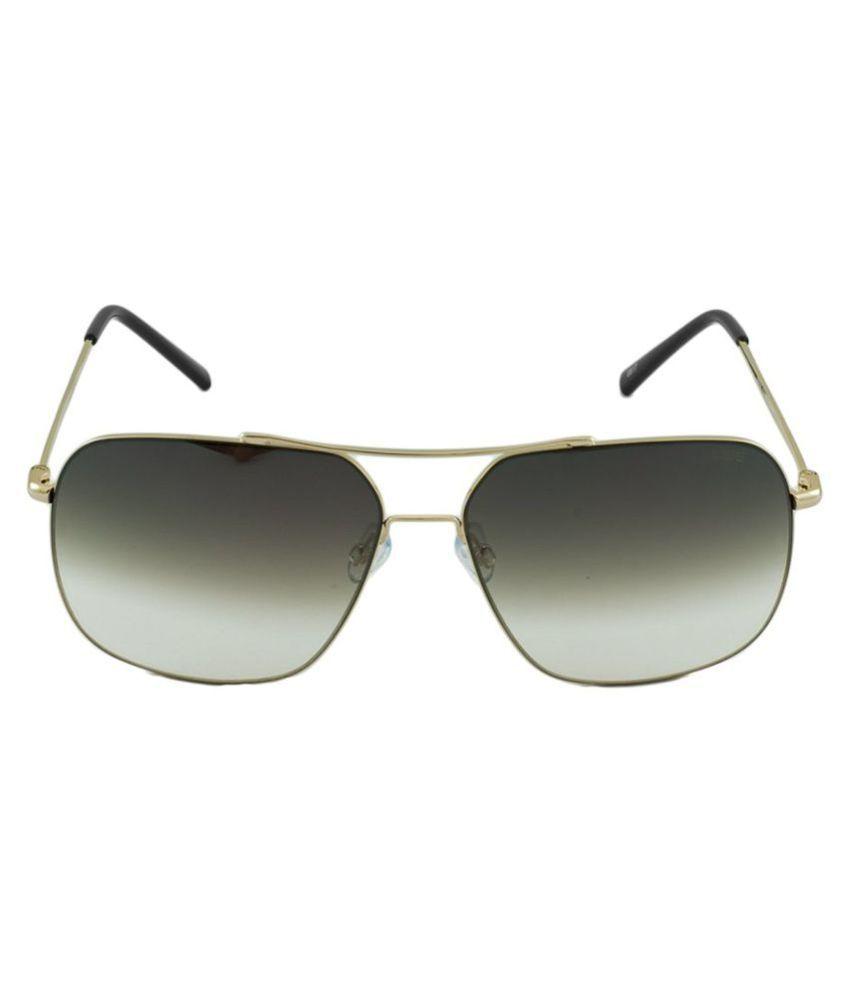 Idee Green Square Sunglasses ( IDS2325C1SG )