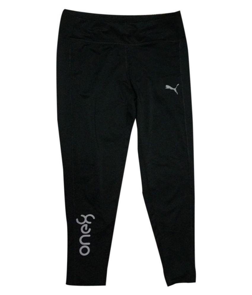 Puma one8 Black Women/Girl's Fancy track pants