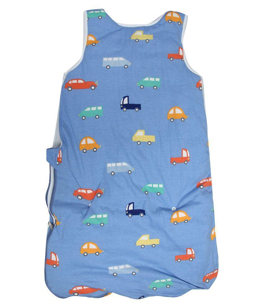 KABOOS Blue Foam Sleeping Bags ( 35 cm × 28 cm)