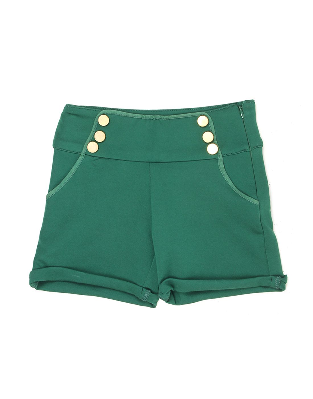 London Fog Girls Green  Short