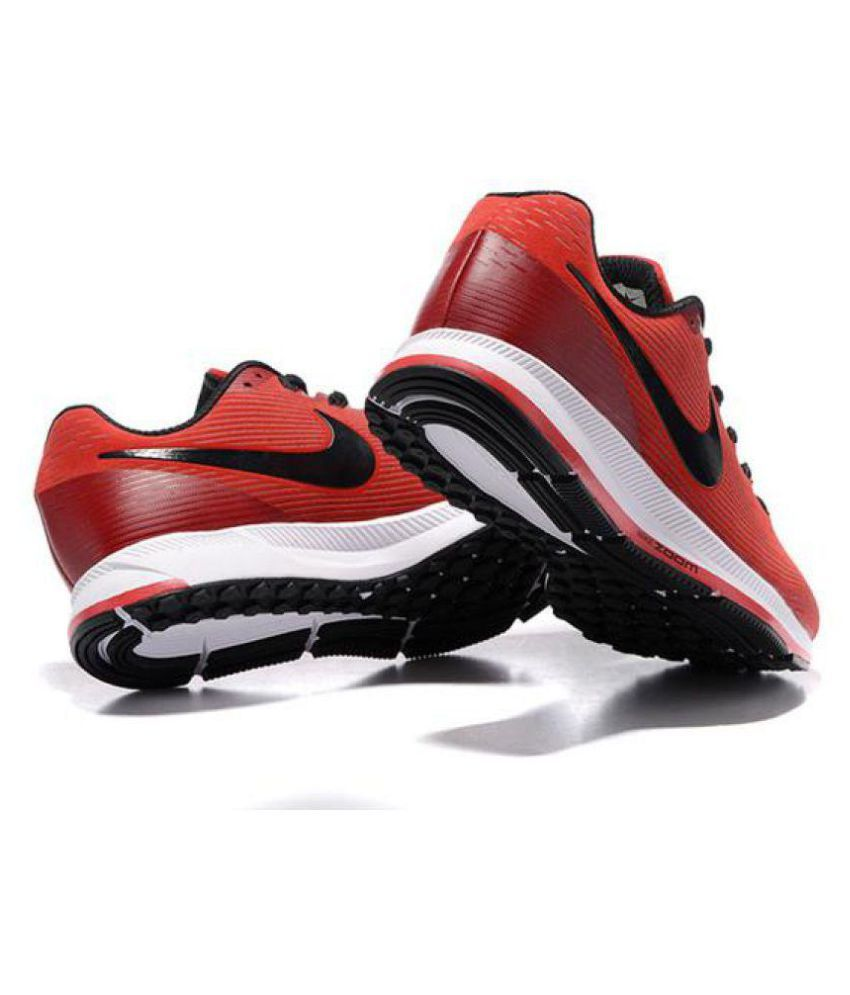 Nike Air Zoom Pegasus 34 Red Running Shoes - Buy Nike Air Zoom ... 9b952aa1f