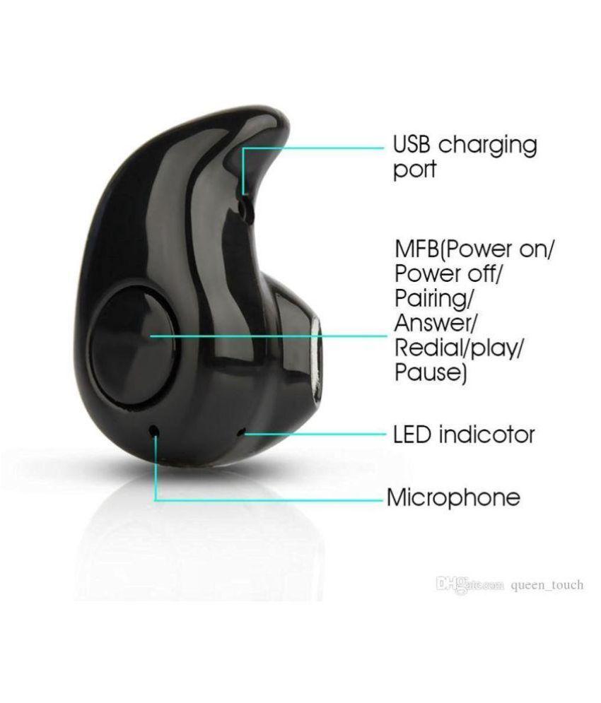 Vizions Wireless Bluetooth Headphone Black