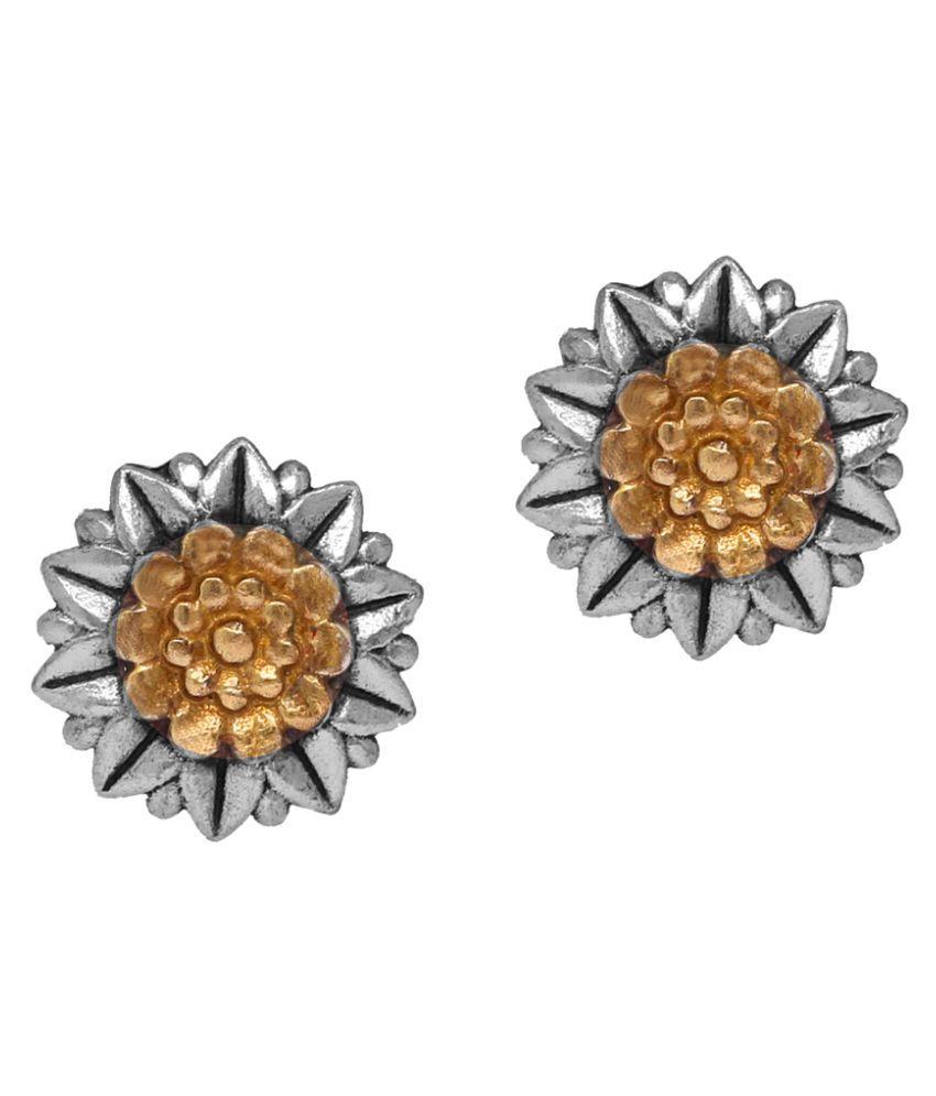 Oxidised Ethnic Earrings For Women