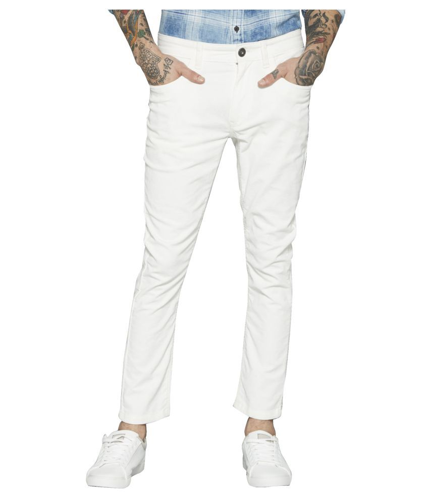 Lawson White Skinny Jeans