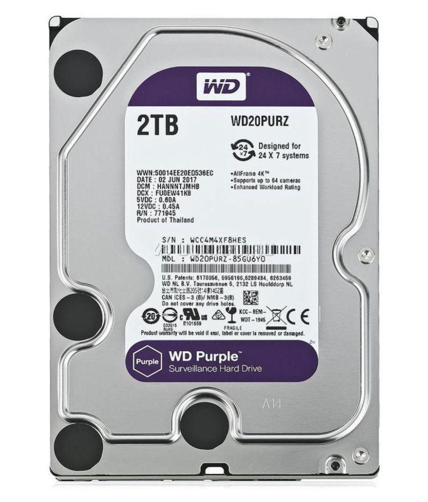 Western Digital 2TB 2 TB Internal Hard Drive Internal Hard drive