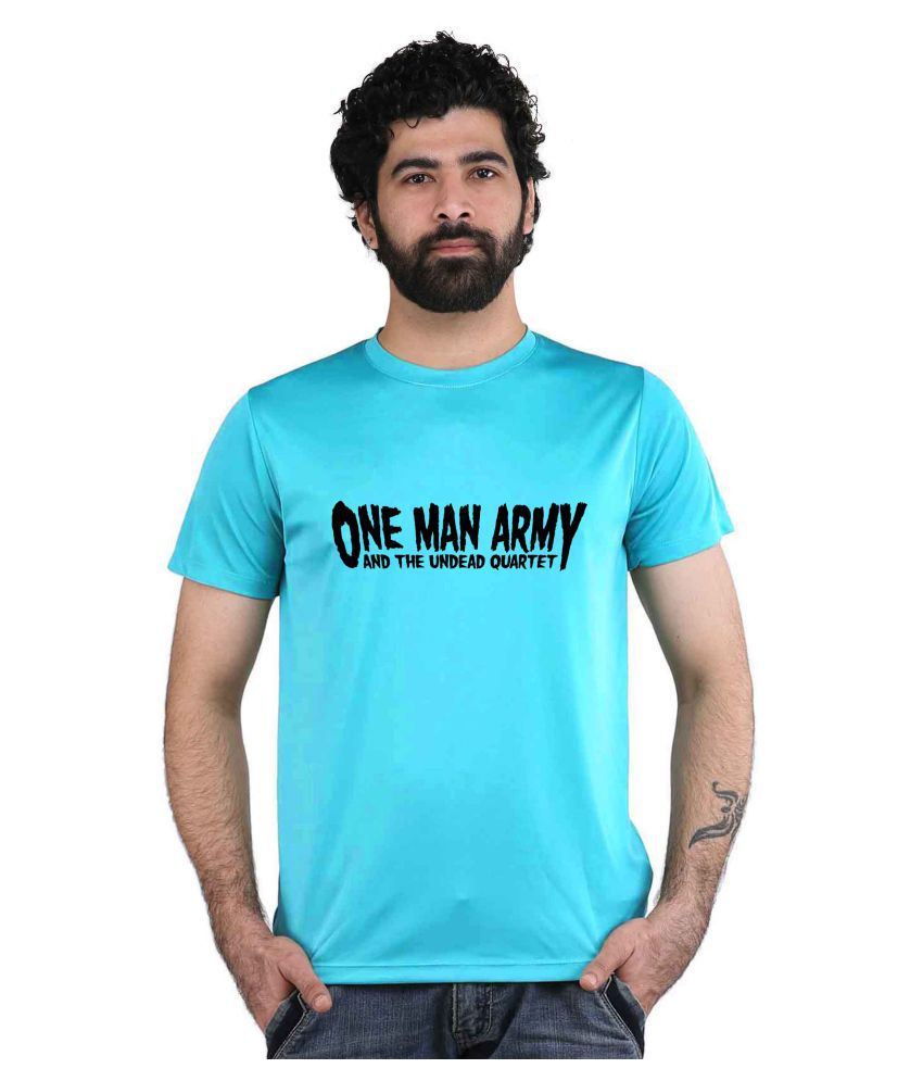 Snoby Blue Round T-Shirt Pack of 1
