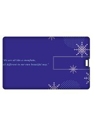 Printland Credit Card Shape 32GB USB 2.0 Fancy Pendrive Single