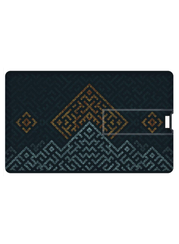 Design Worlds Credit Card Shape Pendrive 32GB USB 2.0 Fancy Pendrive Single