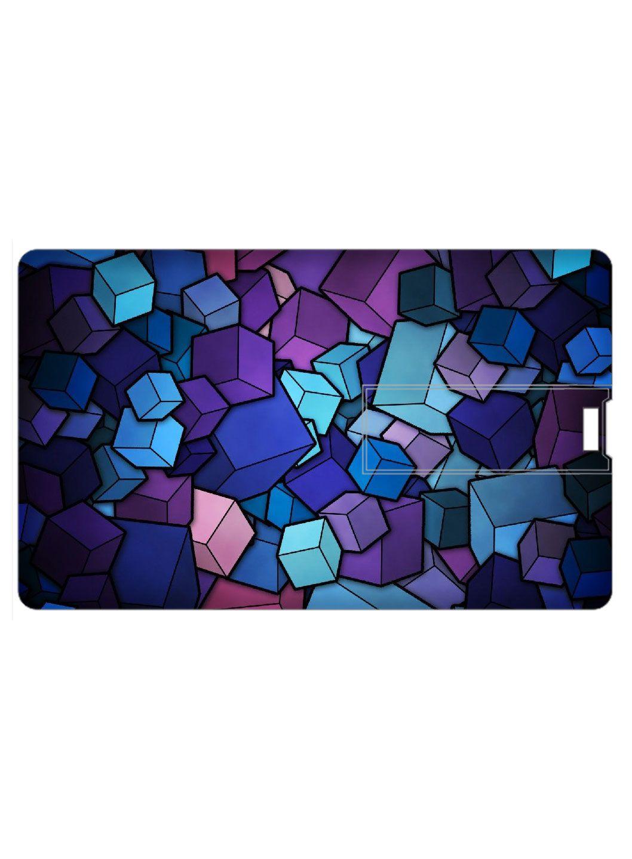 Design Worlds Credit Card Shape Pendrive 8GB USB 2.0 Fancy Pendrive Single