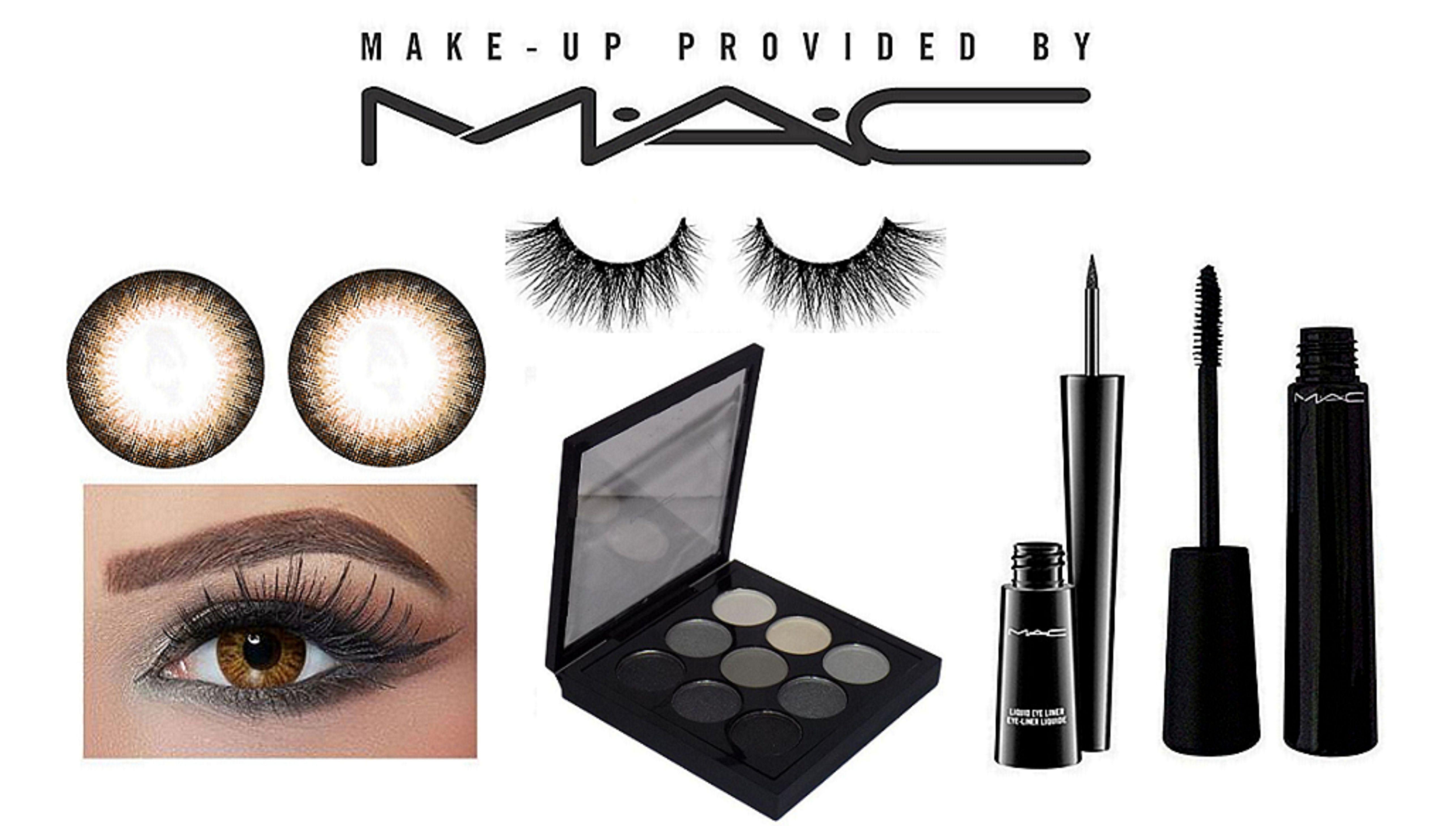 Mac Eyeliner Eyelashes Eyeshaodw