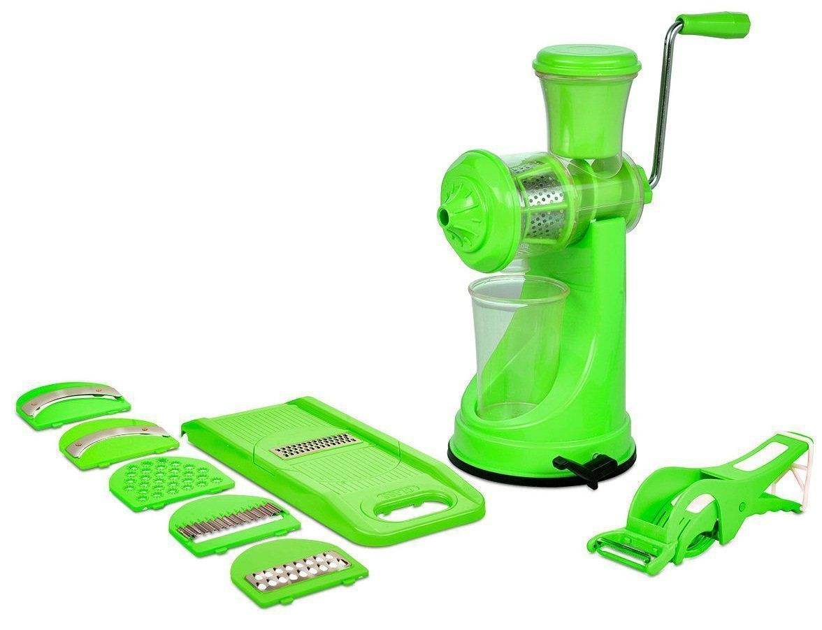 Best Combo Of Fruit Vegetable Premium Manual Hand Juicer Mixer 2 In 1 Multi