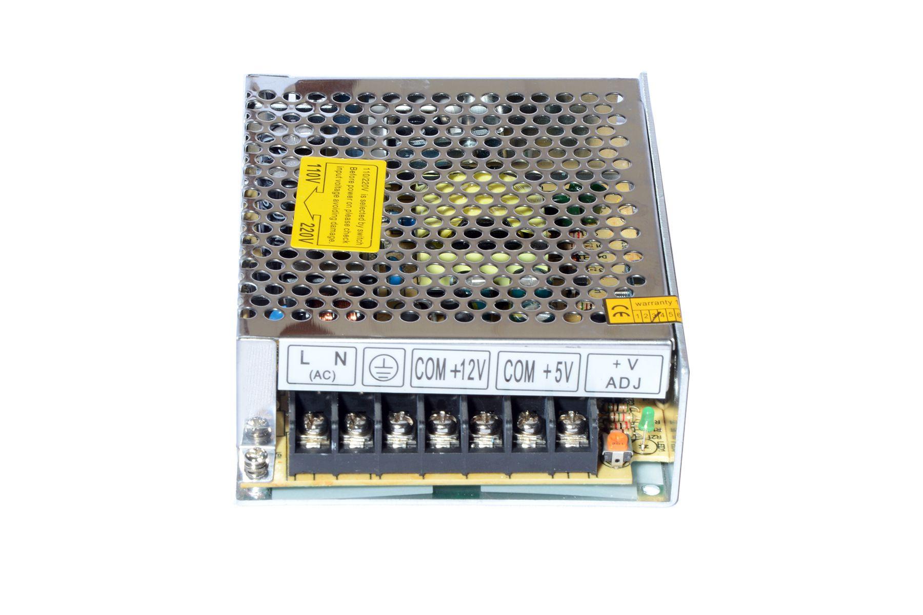 Maa Ku 12V/1A & 5v/4A dual output voltage SMPS & Power Supply - Buy ...