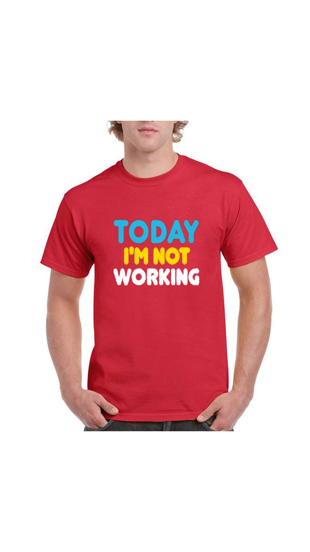 PINUSTORE Red Round T-Shirt
