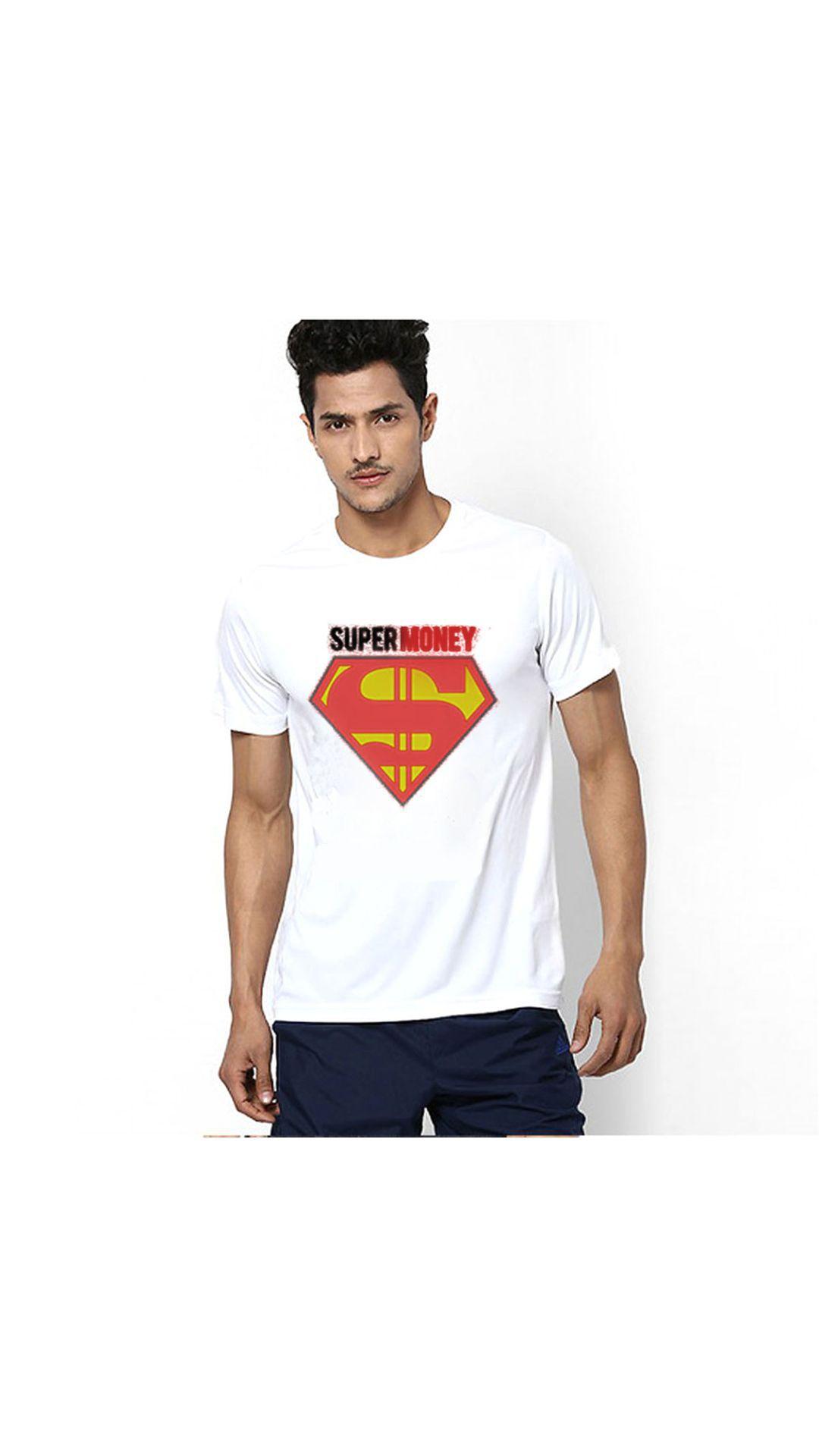 PINUSTORE White Round T-Shirt