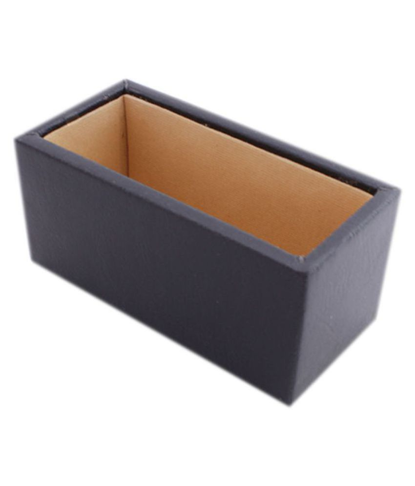 Leather plain visiting card holder black stah270 home office leather plain visiting card holder black stah270 home office room desk organiser reheart Image collections
