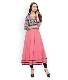 1c52a9d93ca Polyester Kurtis  Buy Polyester Kurtis Online at Best Prices in ...