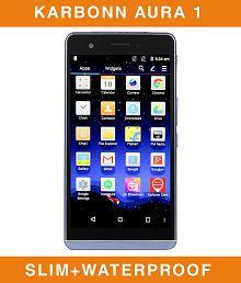 Karbonn Aura 1 (16GB, 2GB RAM) - Worlds Slimmest 4G Waterproof Smartphone