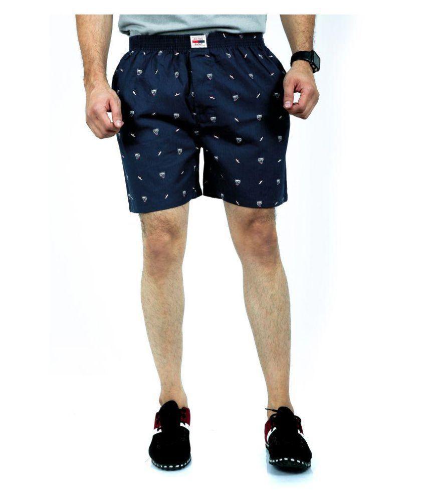 ACTIVE BASIC Blue Shorts 1