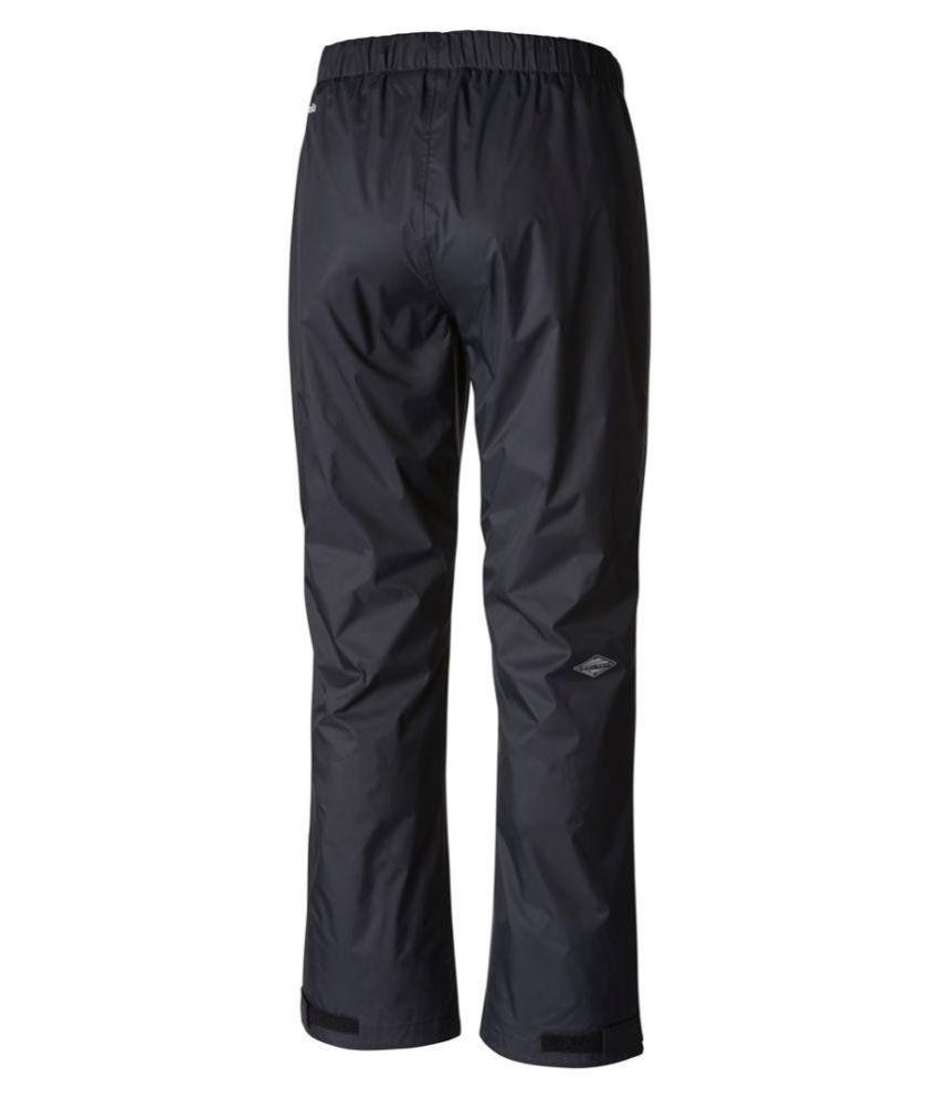 Columbia Nylon Long Raincoat - Black