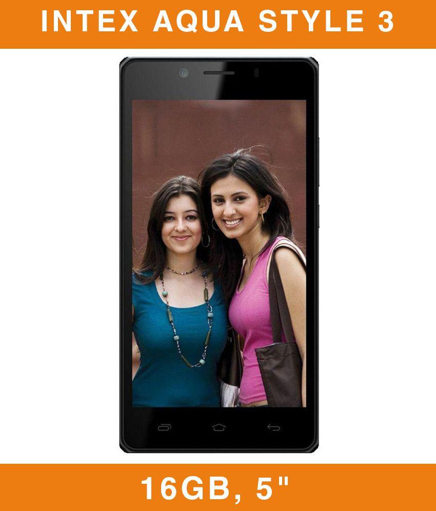 Intex Aqua Style 3 (16GB) - 4G VoLTE