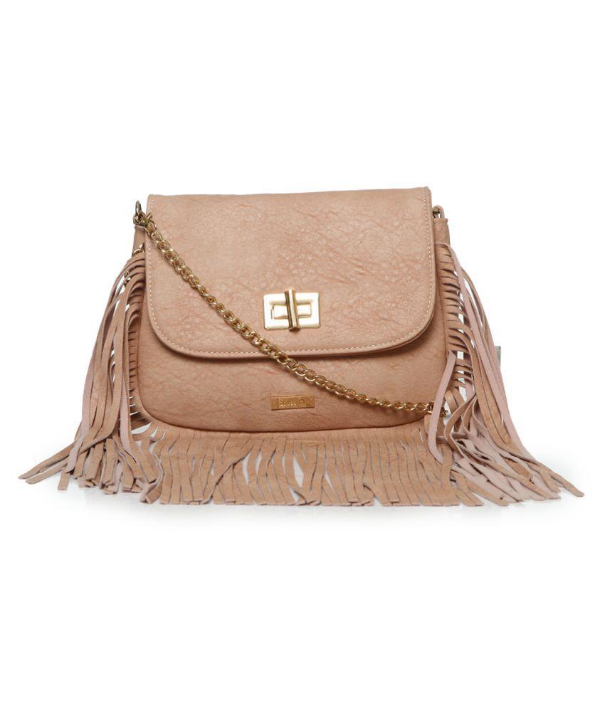 Kazo Pink P.U. Sling Bag
