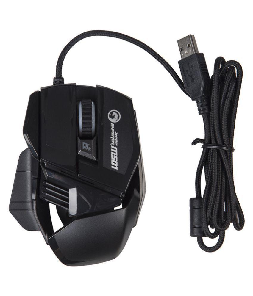Buy Marvo Marvo M501 Gaming Mouse Optical Mouse ( Wired ) Marvo M501 ...