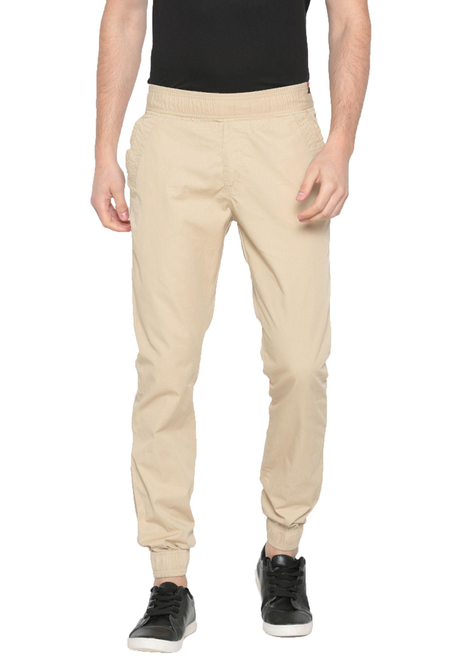 Sports 52 Wear White Slim -Fit Flat Joggers