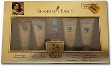 Shahnaz Husain 24 Carat Gold Facial Kit 40g+15ml- Pack of 5