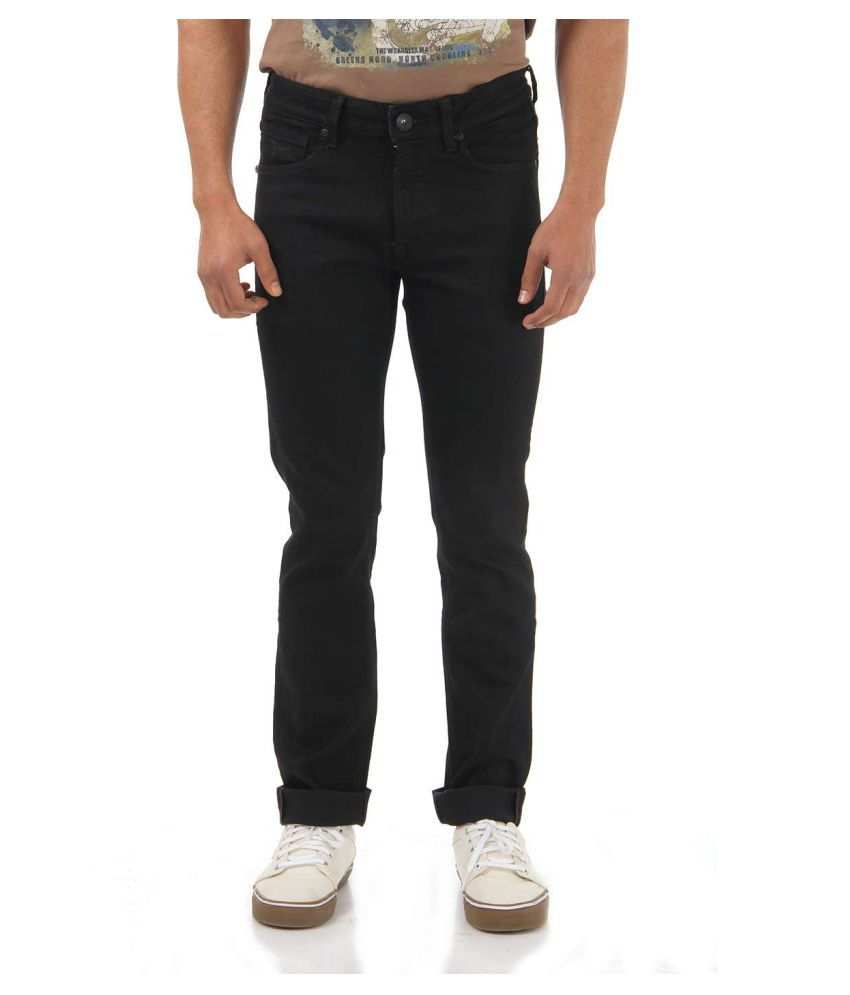 Flying Machine Black Skinny Jeans