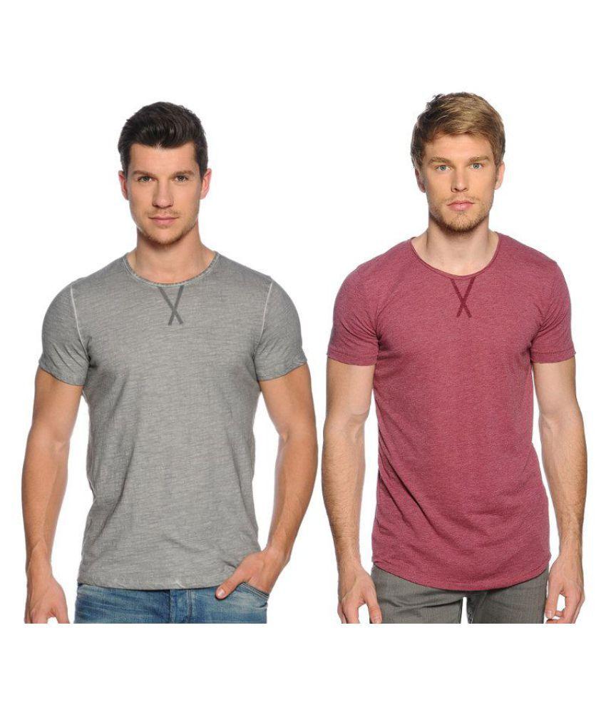 Zachi Pink Round T-Shirt