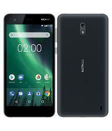 Nokia 2 (8GB, Black) - 4100 mAh