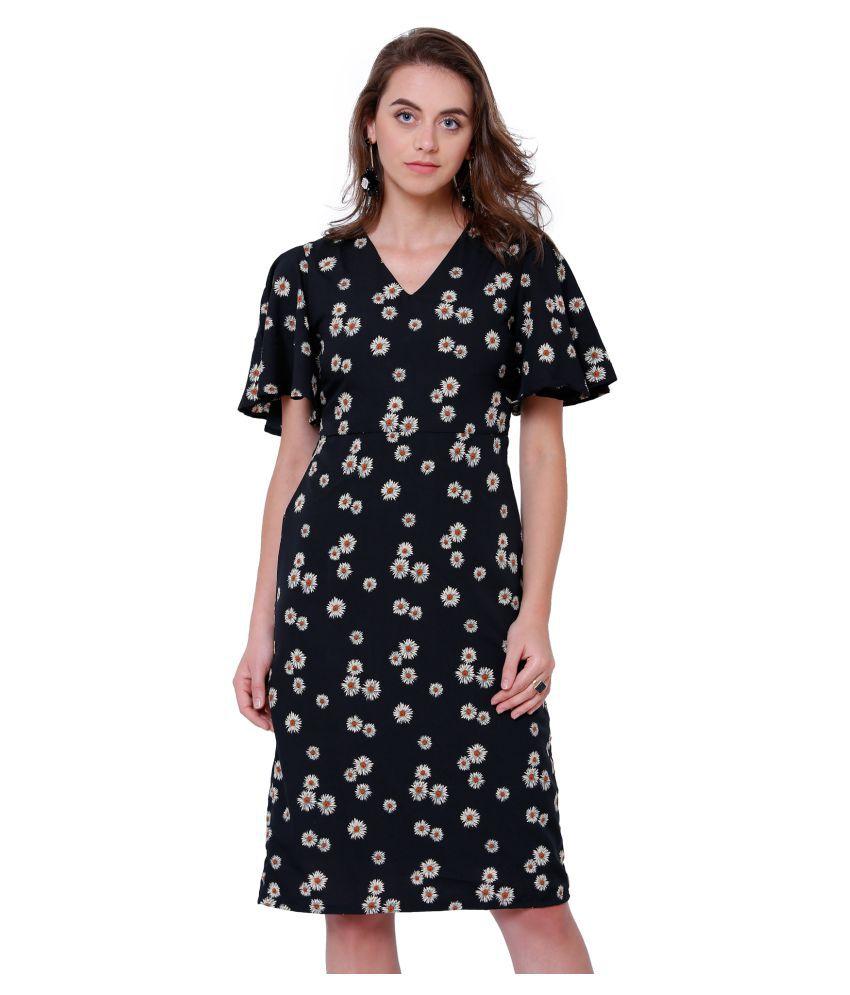 Tokyo Talkies Polyester Black Dresses