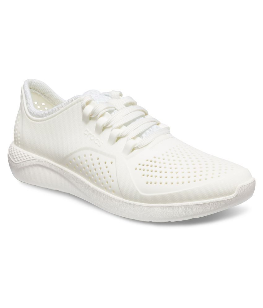2fea5894e6b8 Crocs LiteRide Pacer M Sneakers White Casual Shoes - Buy Crocs LiteRide  Pacer M Sneakers White Casual Shoes Online at Best Prices in India on  Snapdeal