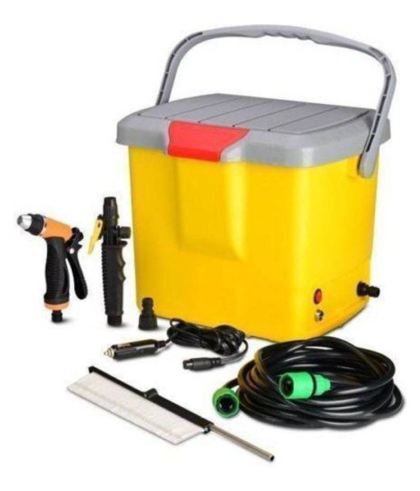 Mini Portable Multifunctional High Pressure Powerful Electric Machine Wash  / Washer Gun Water Pump for Garden / Car / Bike / Pet Wash, Medium