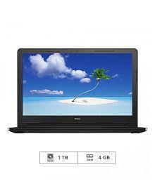 Dell Vostro 15 3558 Laptop (4th Gen Intel Core i3- 4GB RAM- 1TB HDD- HDD- 39.62 cm (15.6)- Ubuntu) (Black)