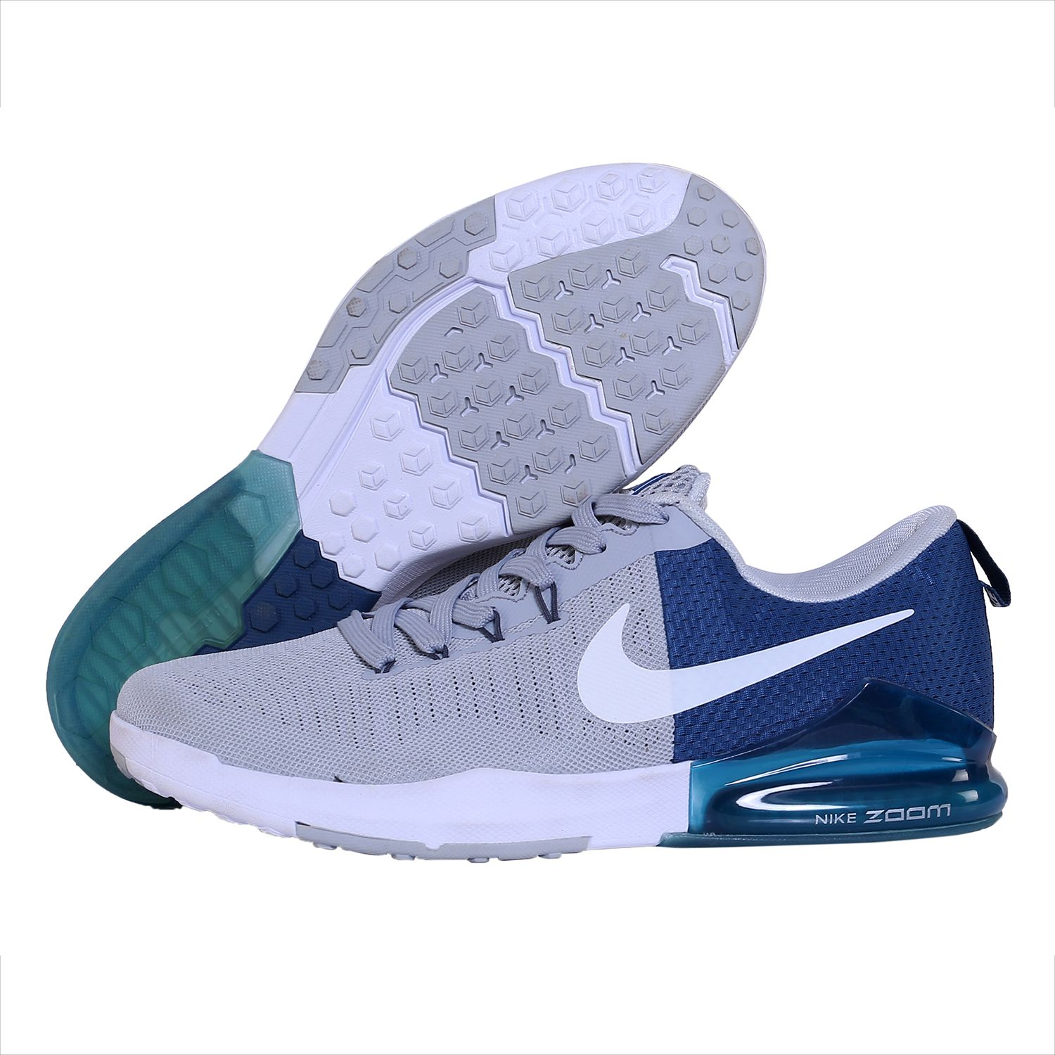 fc6b8a0d669e Nike ZOOM TRAIN ACTION Silver Running Shoes - Buy Nike ZOOM TRAIN ACTION  Silver Running Shoes Online at Best Prices in India on Snapdeal