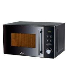 Godrej 20 to 26 Litres LTR GMX 20 GA8 MLM Grill Microwave black