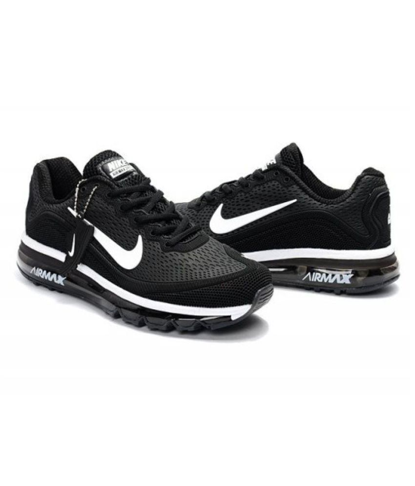 c702ed2bc311 Nike Airmax 2018 Limited Edition Black Running Shoes - Buy Nike Airmax 2018 Limited  Edition Black Running Shoes Online at Best Prices in India on Snapdeal