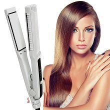 Jm PRO REVLON Hair Straighteners Professional Travel Flat Iron 65W Hair Straightener ( White )
