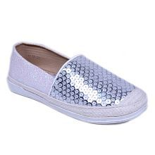WHITE PRINTED SHOES FOR GIRLS