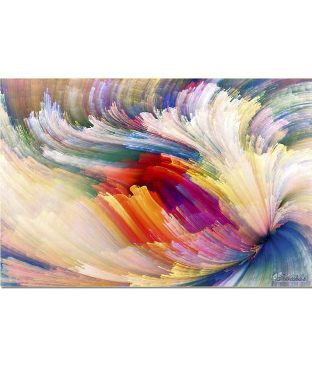 Anwesha's Gallery Wrapped Digitally Printed 30x20 Inch - 131 Canvas Painting With Frame