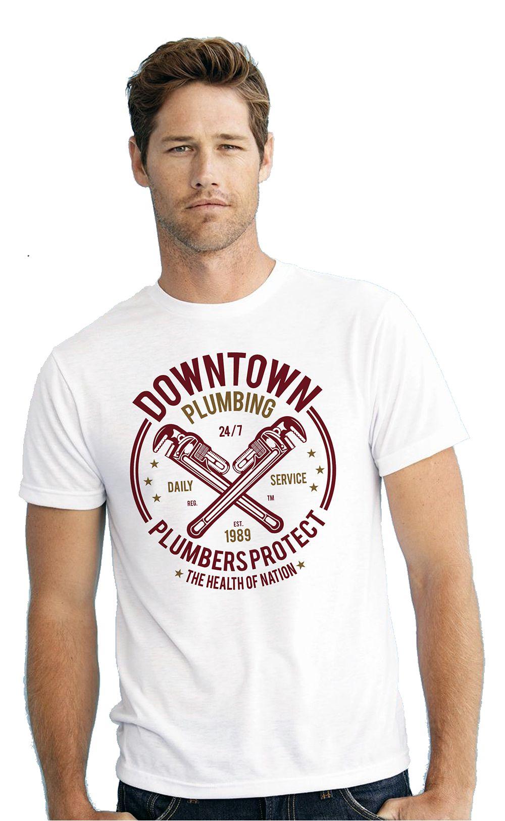 CACA ANP White Round T-Shirt